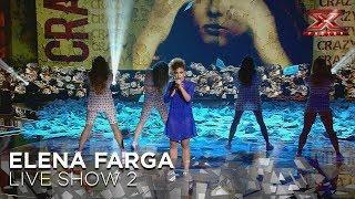 Elena Farga Live 2 Factor X 2018