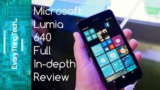 Microsoft Lumia 640 AT&T GoPhone Full In Depth Review!