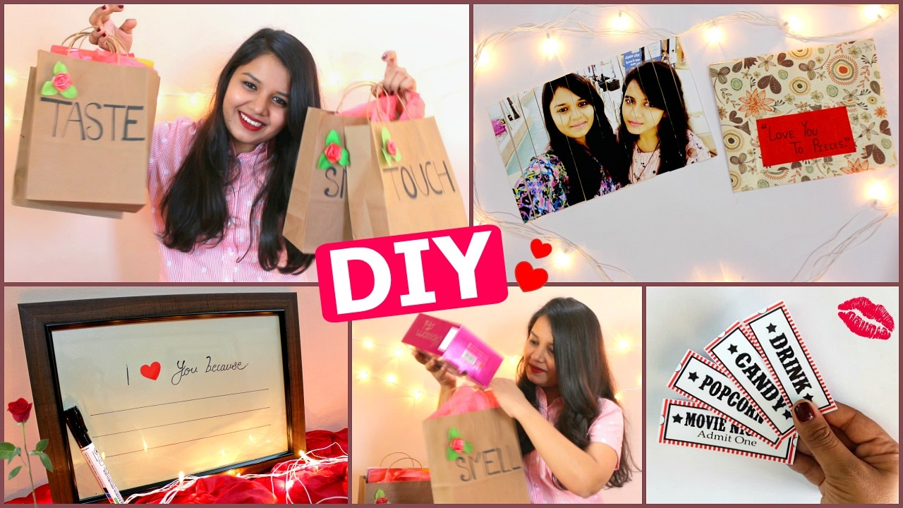 DIY   Last Minute Valentineu0027s Day Gift Ideas For Him/her ( Pinterest  Inspired )   YouTube