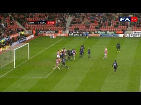 Stoke 3 - 1 Arsenal - 2010 FA Cup Fourth Round