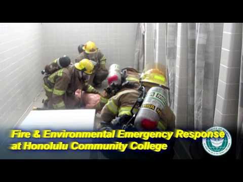 Fire & Environmental Emergency Response Program at Honolulu Community College