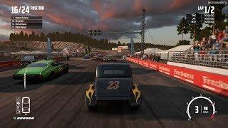Wreckfest - Outlaw at Sandstone Raceway (Realistic Damage)