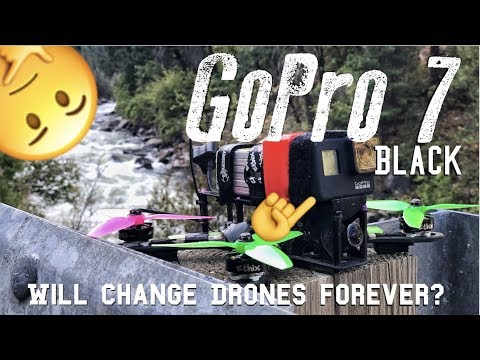 NEW GoPro 7 Black ULTIMATE DRONE CAMERA? FLAWS?| RAW FOOTAGE TEST