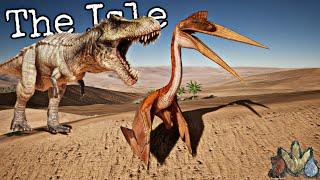 Jogando de Quetzalcoatlus! Hyperendocrin T-Rex Predador! Dinossauros [PT/BR] The Isle