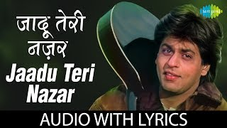 "Enjoy the song of bollywood ""jaadu teri nazar"" with hindi & english lyrics sung by udit narayan from movie darr. song: jaadu nazar album: arti..."
