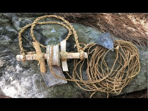 Primitive Survival Skills: Technology Make A pulley Primitive