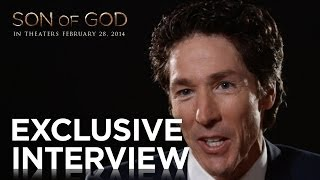 "Son of God | Joel Osteen ""Walking on Water"" Exclusive Interview 