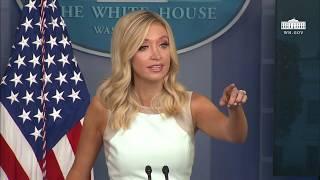 07/06/20: Press Secretary Kayleigh McEnany Holds a Briefing
