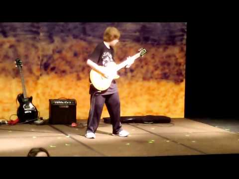 5th Grader AMAZING Guitar Cover to 'In The End' by Black Veil Brides (MUST WATCH)