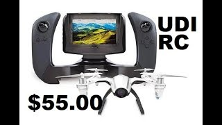 UDI RC U28-1 $55 2.4GHz FPV Quadcopter with Wide-Angle 720p Flight Review