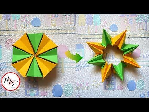 Paper Toys DIY: How to Make an Easy Origami Magic Circle Fireworks | Maison Zizou