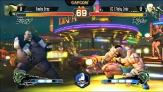 NCR 2014 - SF4 AE - Snake Eyez vs EG Ricky Ortiz - Top 8 Losers