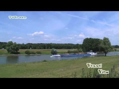 VesselView: Vessel Marlam sailing the river IJssel