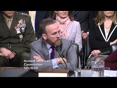 Sen. Dan Sullivan (R-AK) at a Senate Armed Services Committee Hearing - February 25, 2016 (Part 2)