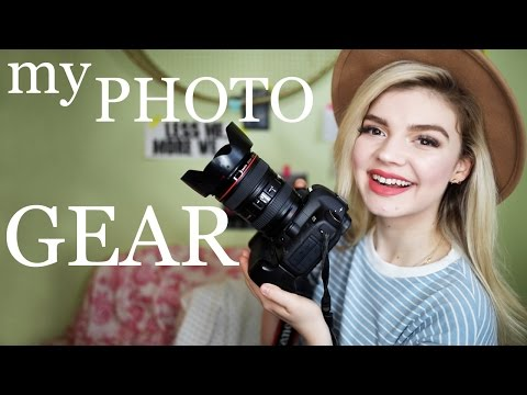 MY PHOTOGRAPHY EQUIPMENT | full camera gear + lens collection