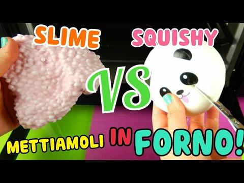 METTIAMO IN FORNO SLIME E SQUISHY! COSA SUCCEDERa? SLIME VS SQUISHY! Iolanda Sweets - YouTube