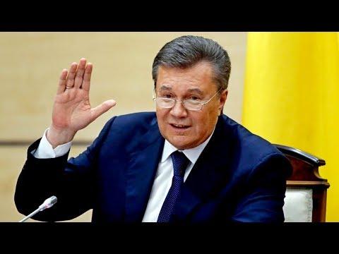 Виктор Янукович попал