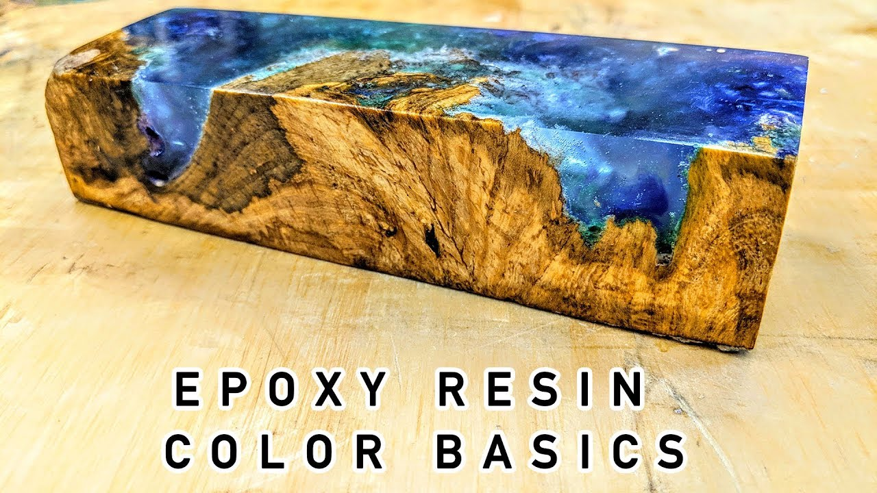 Epoxy Resin Color Basics Tutorial - YouTube