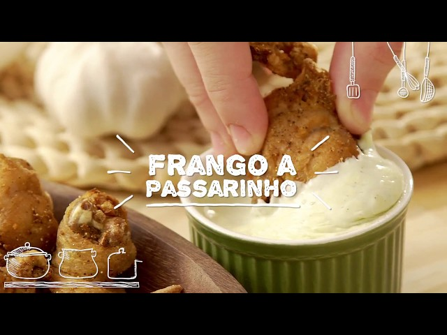 Frango a Passarinho - Sabor com Carinho (Tijuca Alimentos)