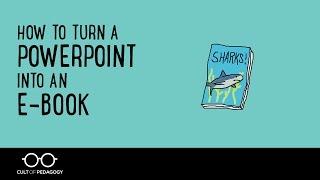 كيفية تحويل PowerPoint في كتاب إلكتروني