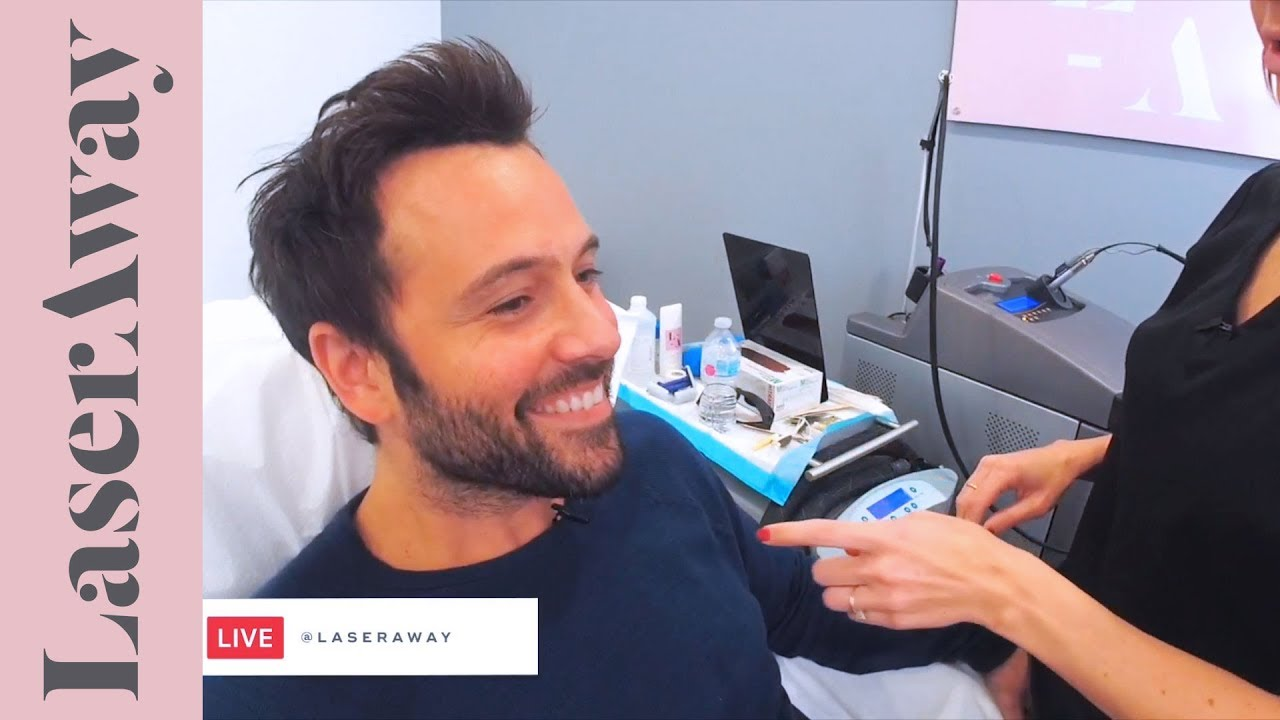 Laser Hair Removal For Men Face And Neck Line Youtube