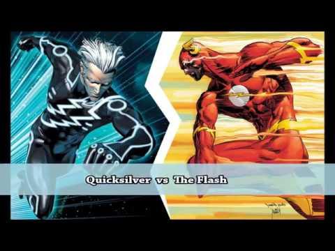 Quicksilver Vs The Flash ↑Rap Duellolari