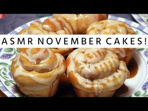 ASMR (Whisper) Delicious November Cakes Recipe - The Scorpio Races