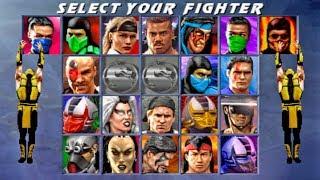 (PS2) Ultimate Mortal Kombat 3 - SCORPION - (TORRE MASTER)【TAS】