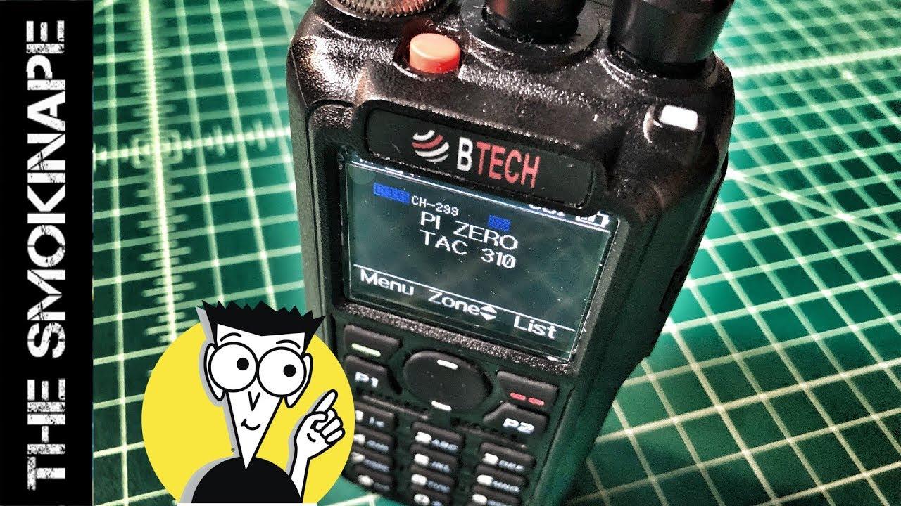 BTECH DMR-6X2 - Code Plug 101 - TheSmokinApe