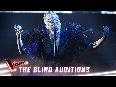 The Blind Auditions: Sheldon Riley Sings 'Frozen' | The Voice Australia 2019
