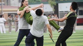 Màn trình diễn võ thuật ấn tượng của học viên trường Trung cấp Cảnh sát