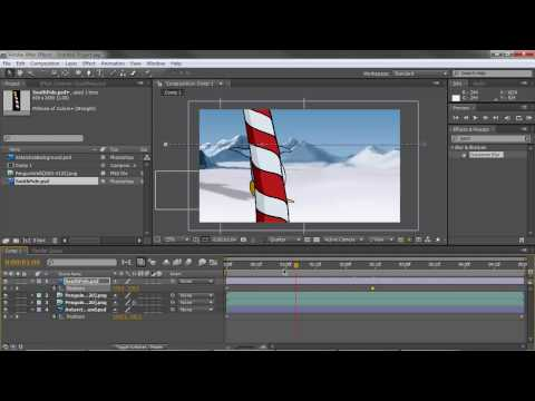 2D Animation Compositing in Adobe After Effects