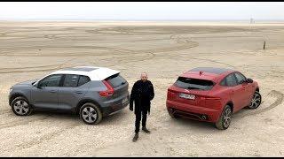 DUEL - Jaguar E-Pace vs Volvo XC40