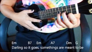 i can t help falling in love   elvis presley   twenty   one   pilots ukulele tutorial
