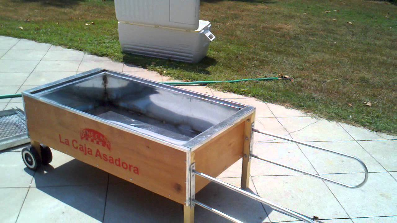 La Caja Asadora La Caja China Cuban Pig Roaster Home Video Youtube