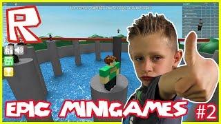 Epic Minigames #2 | Roblox