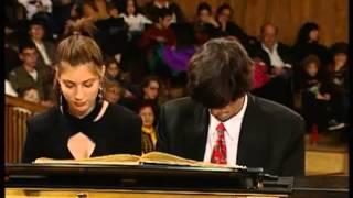 Schubert, Marche Militaire piano duet. Salim & Sivan