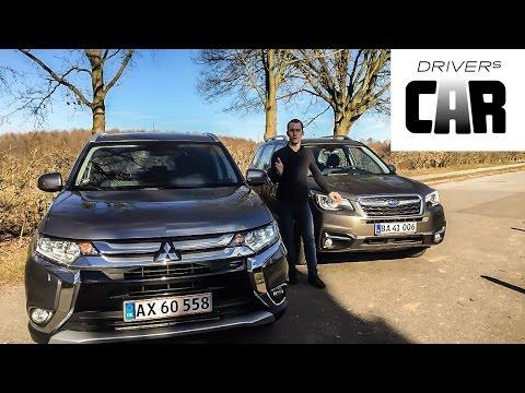 Mitsubishi outlander vs subaru forester