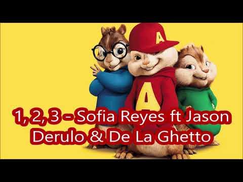 1, 2, 3 Sofia Reyes ft Jason Derulo & De La Ghetto - Alvin y las ardillas