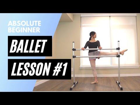 Absolute Beginner Ballet Lesson 1   Online Ballet Class 2021
