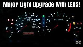 Infiniti G20 Instrument Cluster LED Light Upgrade