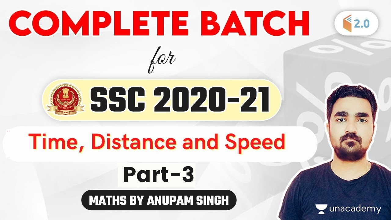 Download 4:00 PM - SSC 2020-21 | Maths Complete Batch by Anupam Singh Rajput | Time, Distance and Speed