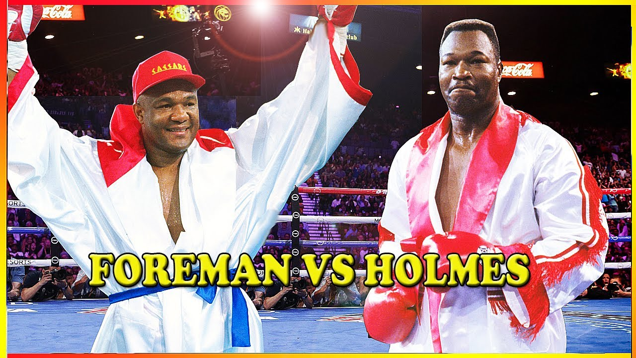 George Foreman vs Larry Holmes - Fight That Almost Happened