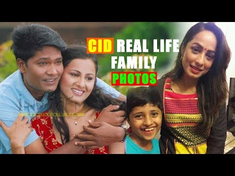 Real Life Family Photos of CID Cast