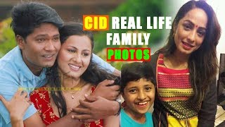 vuclip Real Life Family Photos of CID Cast