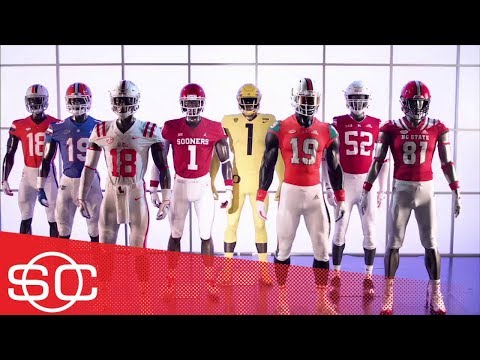 80b3756da10 Gear Up: 2018 Week 1 football uniforms for Oregon, Virginia, Florida, Miami  | SportsCenter | ESPN - YouTube