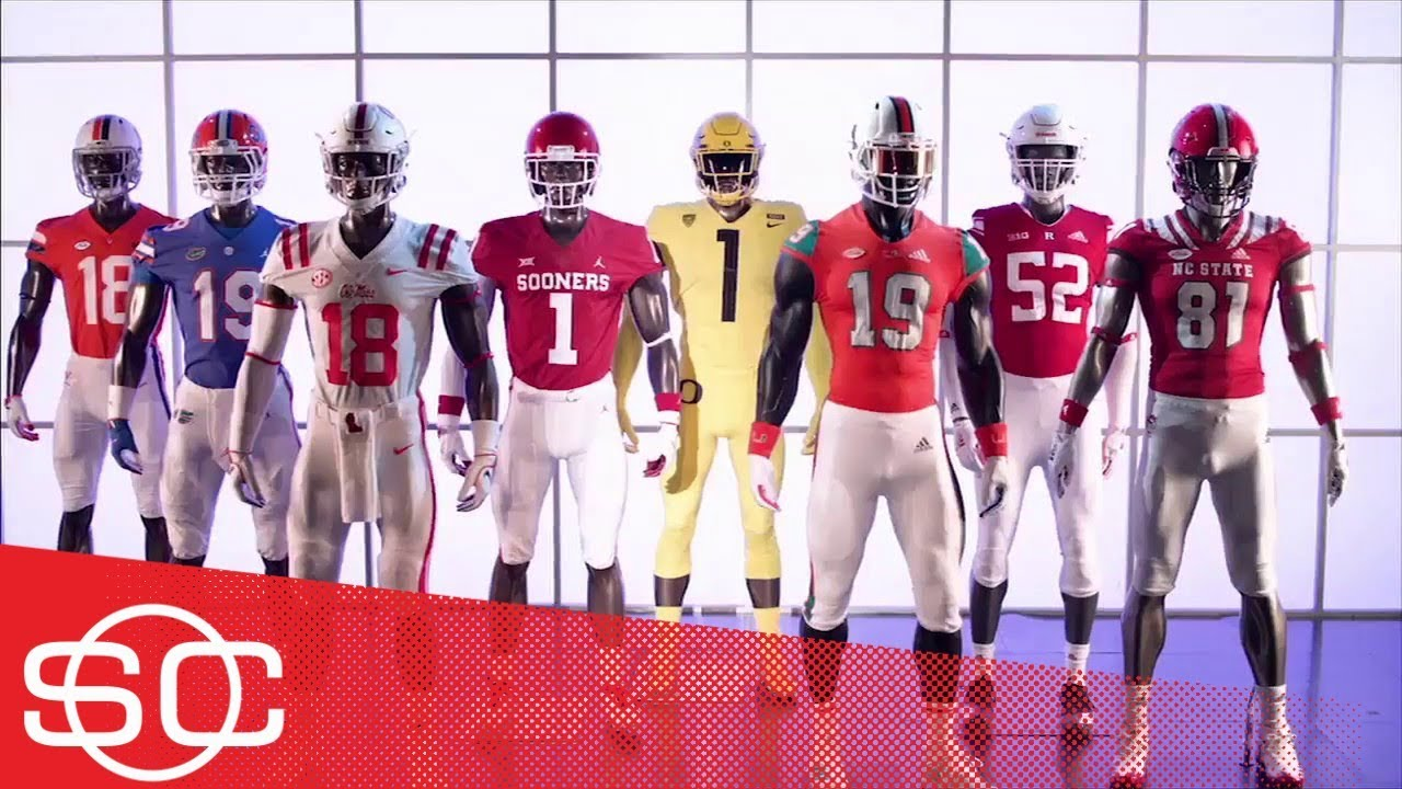 c391b38ddc4 Gear Up: 2018 Week 1 football uniforms for Oregon, Virginia, Florida, Miami  | SportsCenter | ESPN