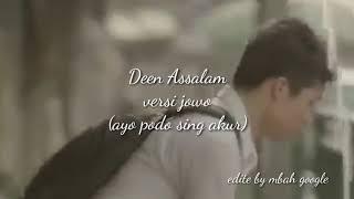 Deen Assalam versi jawa