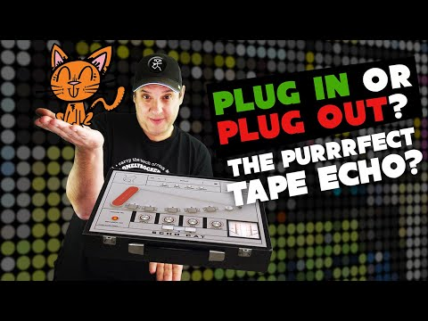 Wavesfactory Echo Cat | The Best Tape delay Plugin? Plug In Plug Out #005