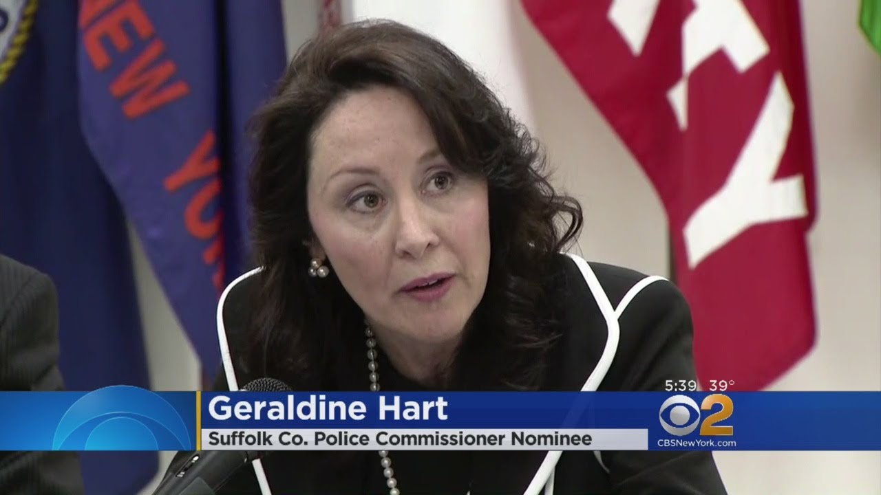 New Suffolk County Police Commissioner Named